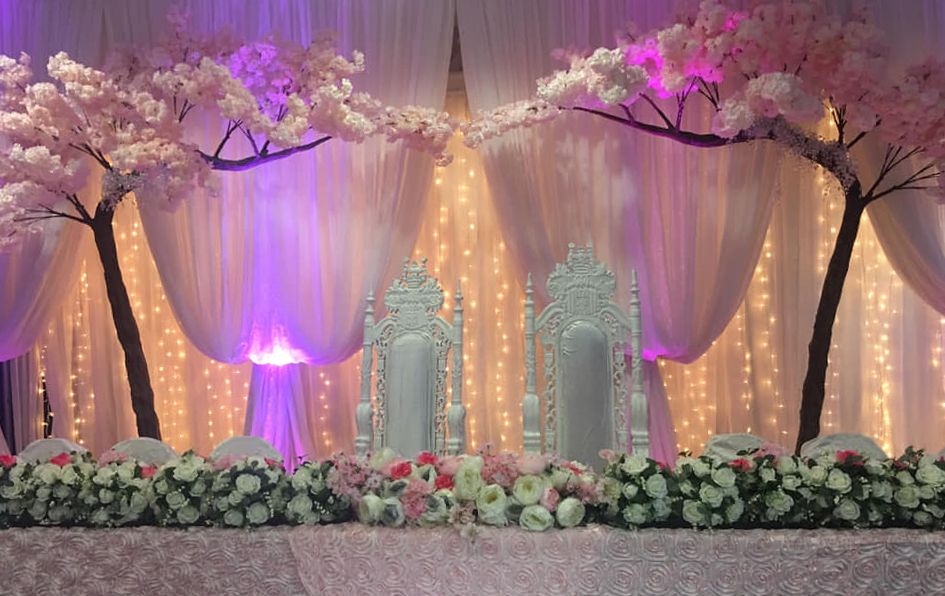 audreys wedding decor